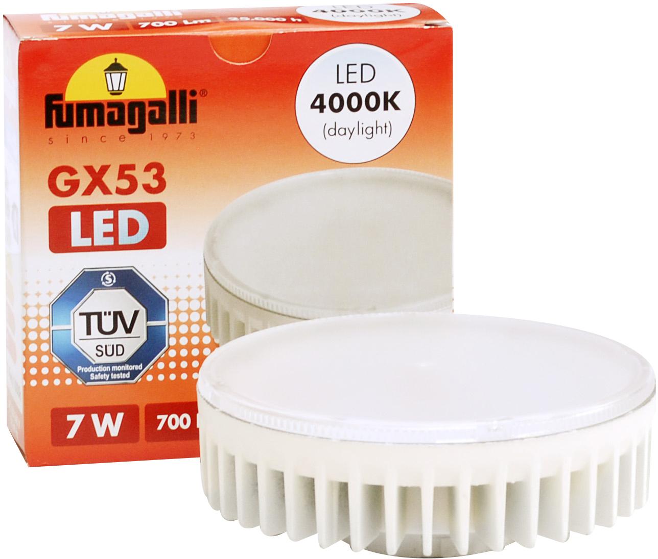 7w gx53 led lamp fumagalli range asbac lighting. Black Bedroom Furniture Sets. Home Design Ideas