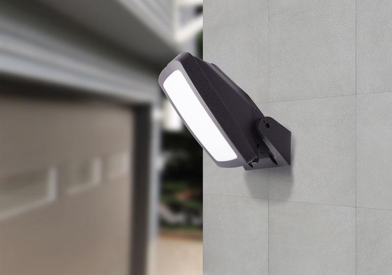 outdoor floodlight wall bracket