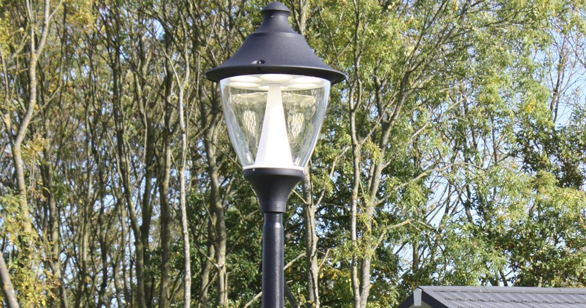 Holiday park lighting